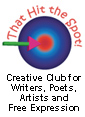 that hit the spot logo for Creative Club for Writers
